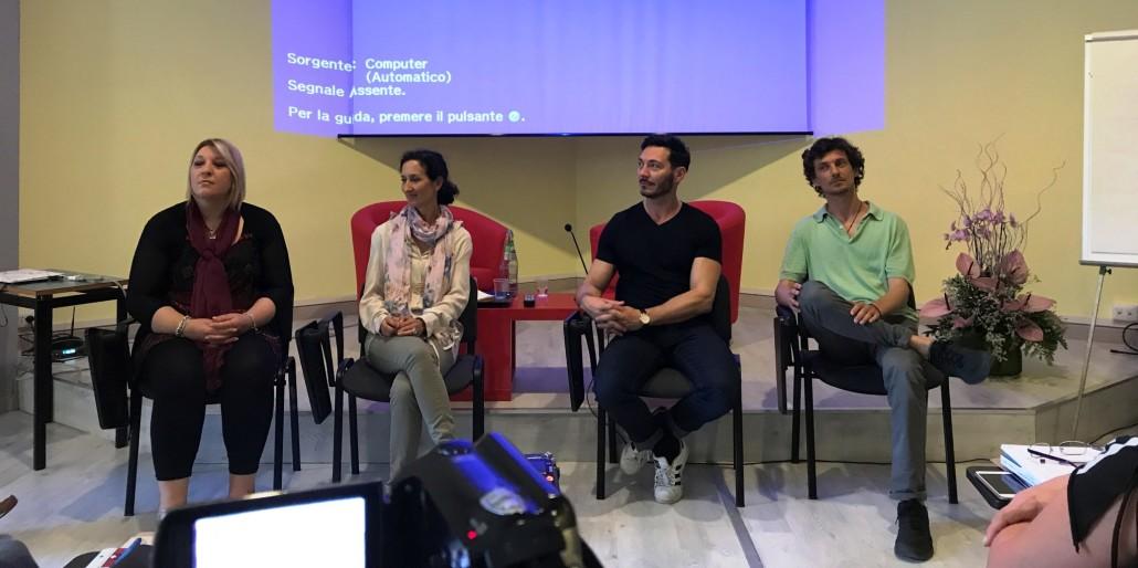 I relatori: emanuela - Paola - Kavi - RIccardo