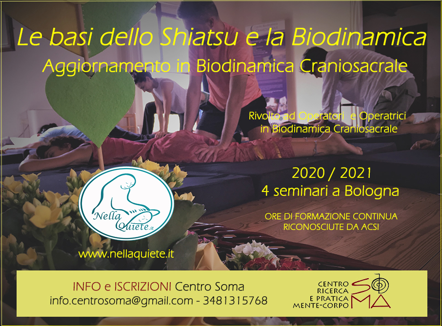 Calendario eventi | ACSI   Associazione CranioSacrale Italia