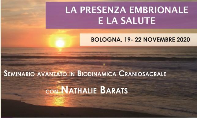 La presenza embrionale e la salute - Seminario con Nathalie Barats