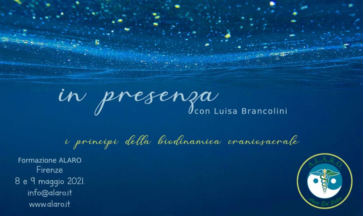 In Presenza - seminario con Luisa Brancolini